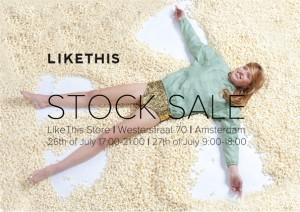 like this stocksale