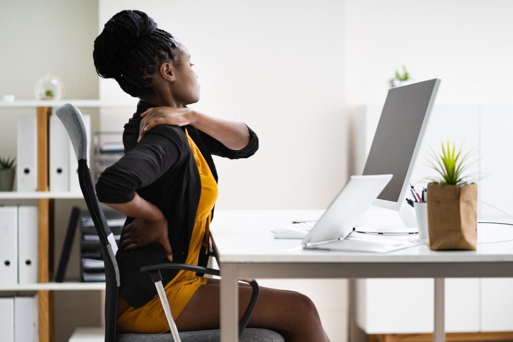 Rugpijn of nekklachten zonder ergonomische zitmeubels